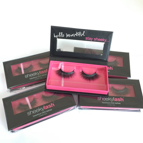 SheekyLash 100% Cruelty Free Premium 3D Mink Lashes