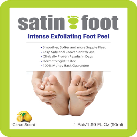 Top Rated Satin Foot Deep Exfoliation Peel for Feet at Home Peel