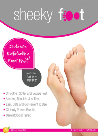 sheeky foot Intense Exfoliating Foot Peel