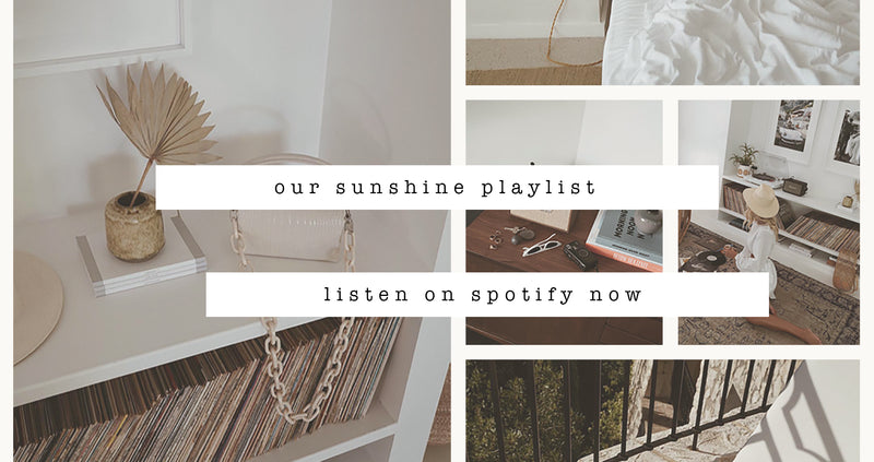 Our Sunshine Playlist