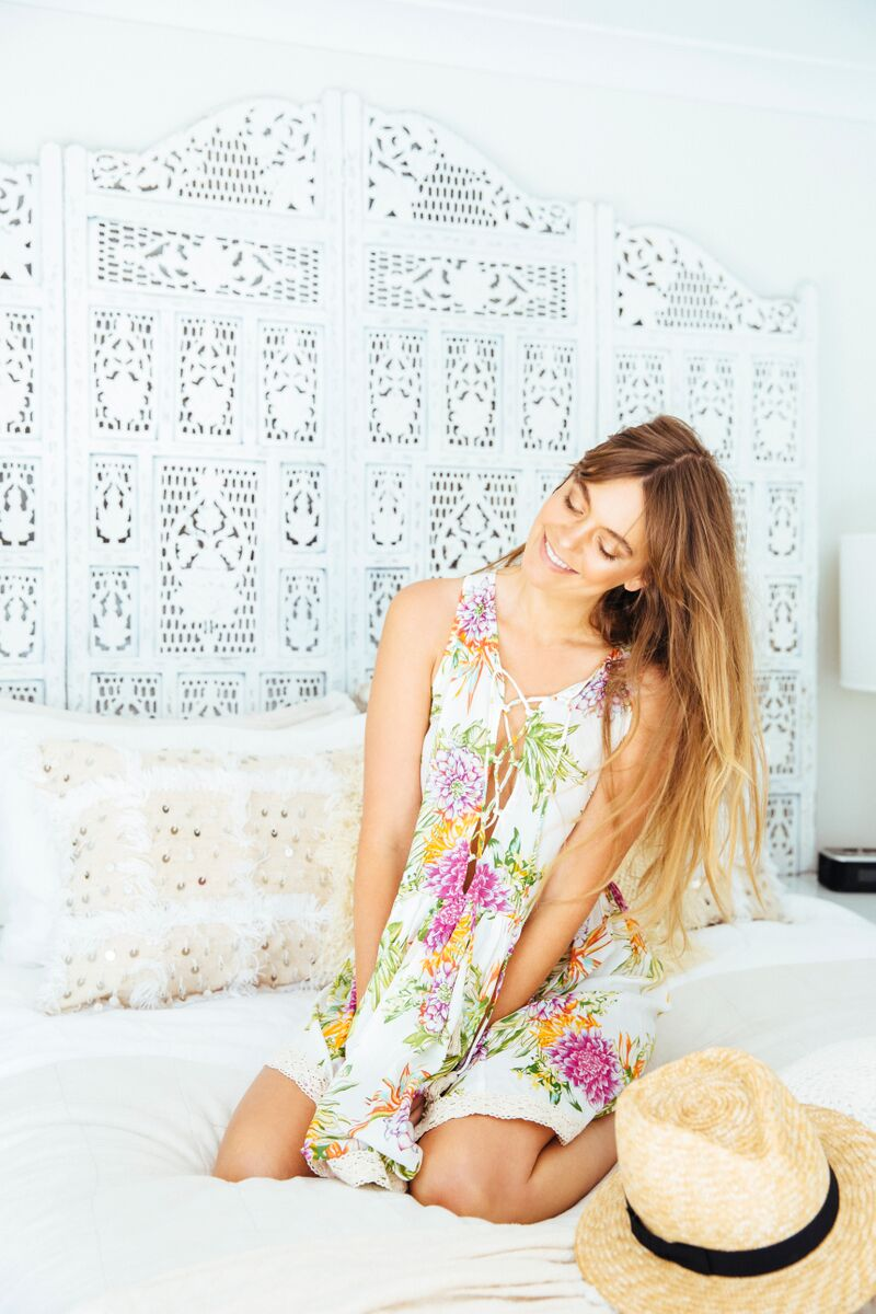 Sun Gypsy_Cabo Gypsy_Let It Bloom Dress_Front