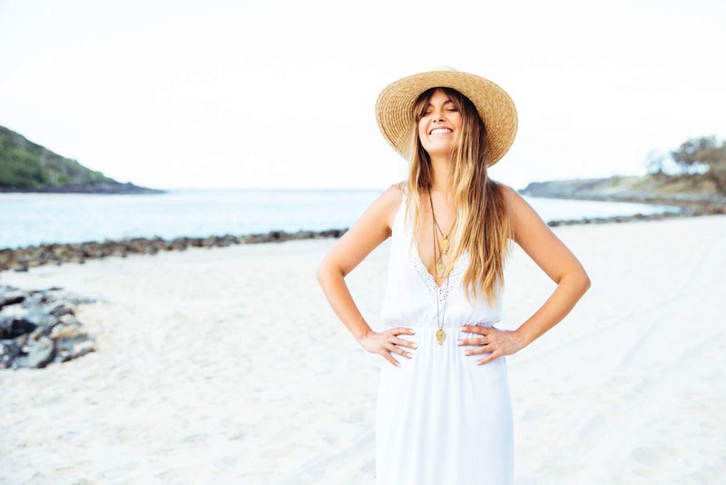 Sun Gypsy_Cabo Gypsy_Sweeping Dunes Dress_FrontClose