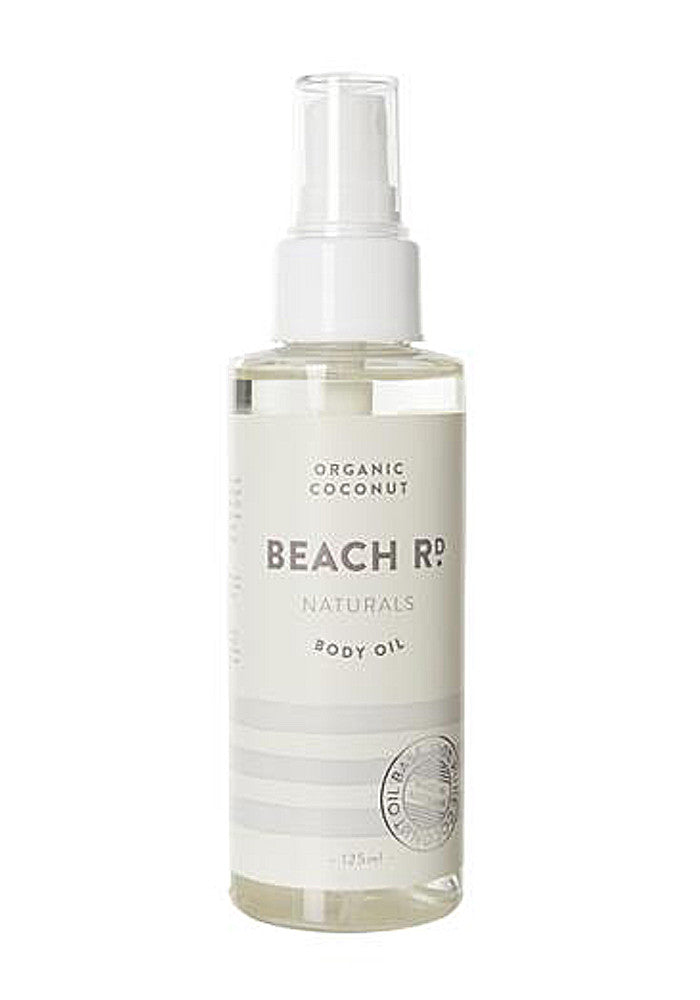 Beach rd organic coconut oil body spray