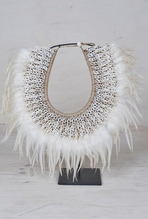 Tribal Feather Decorative Necklace