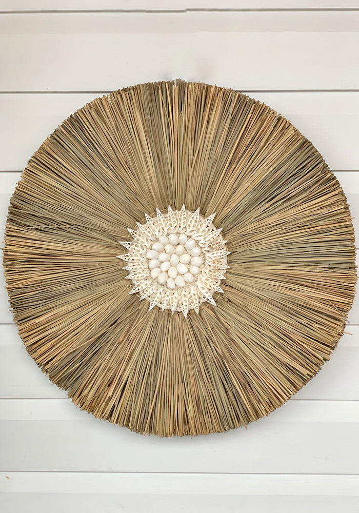 cabo gypsy shellestial straw wall art