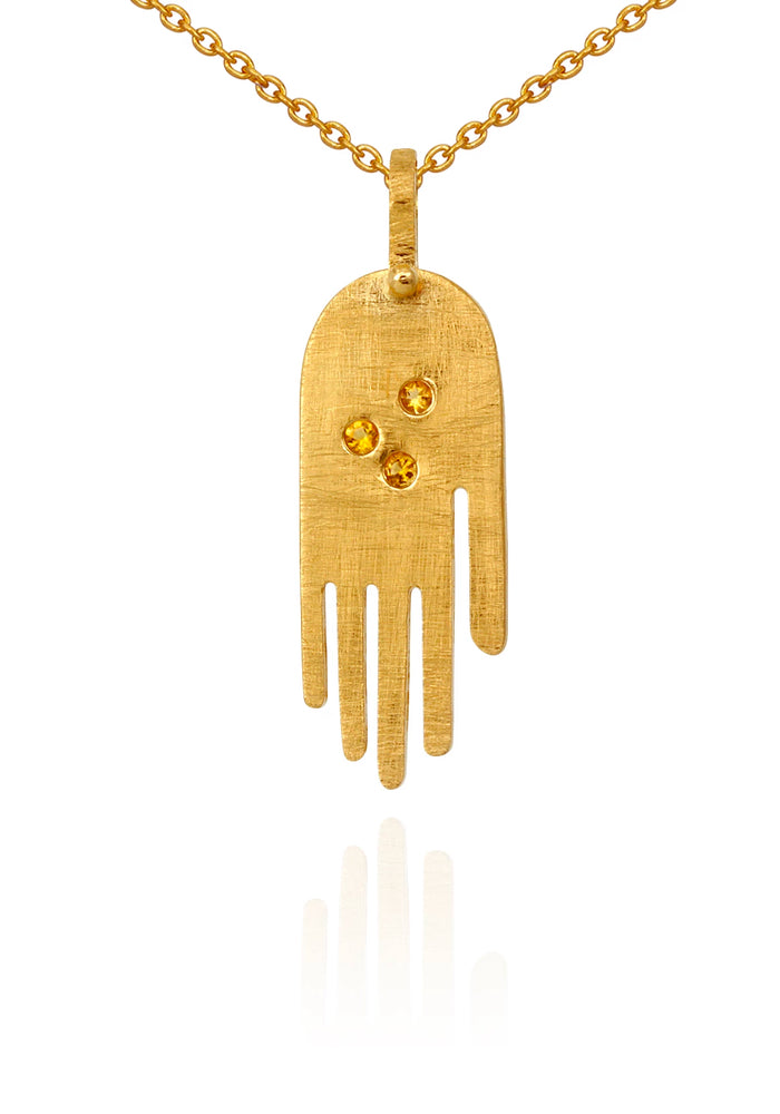 temple of the sun faith necklace
