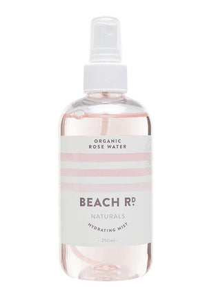 beach rd rose water mist