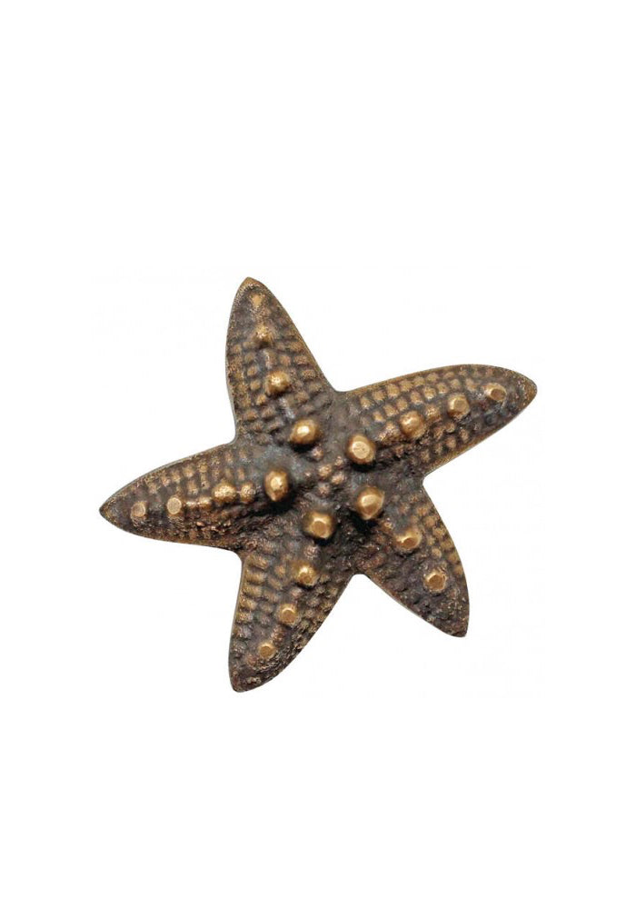 Starfish Brass Door Knobs