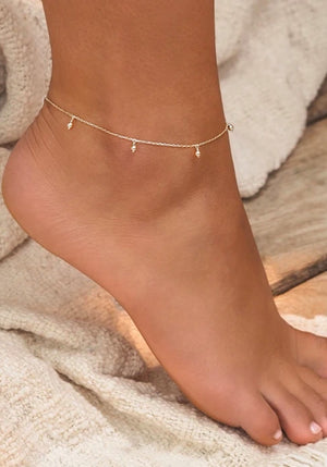 Blessing Anklet -Silver