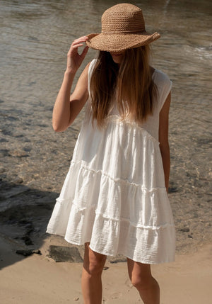 CABO GYPSY Bungalow Summer Mini Dress