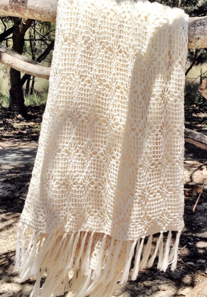Crochet Beach Towel