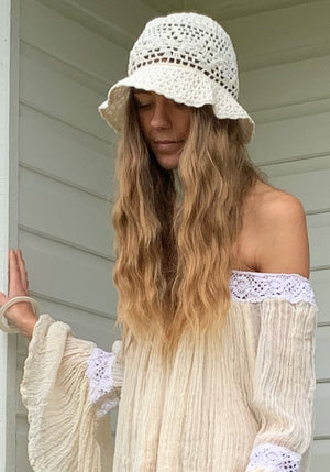 CABO GYPSY Crochet Bucket Hat