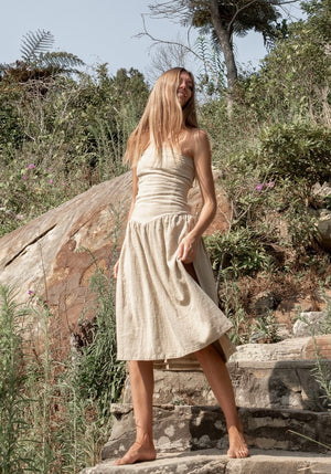 CABO GYPSY Goddess Strapless Dress