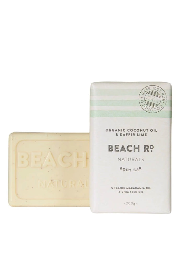 Organic Coconut & Lime Body Bar