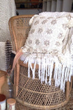 cabo gypsy crochet cushion covers cowrie shells