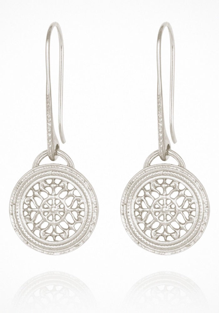 Dafni Earrings Silver