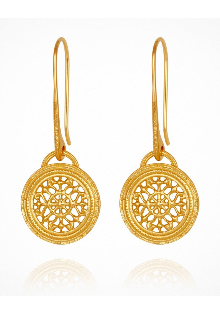 Dafni Earrings Gold