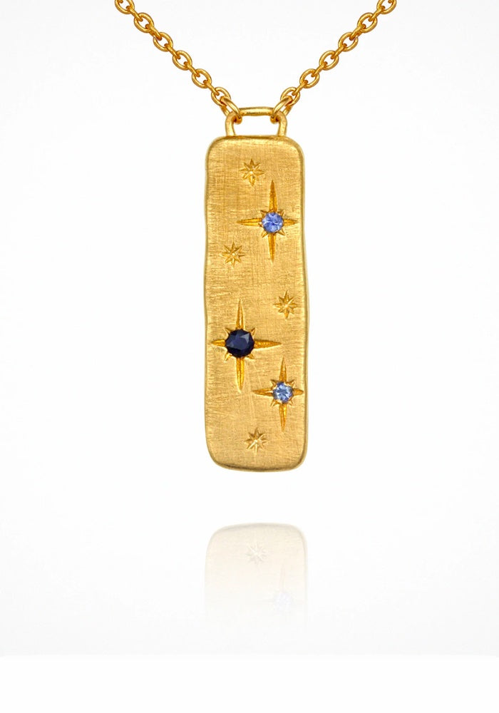 TEMPLE OF THE SUN JEWELLERY Elektra Necklace - Gold
