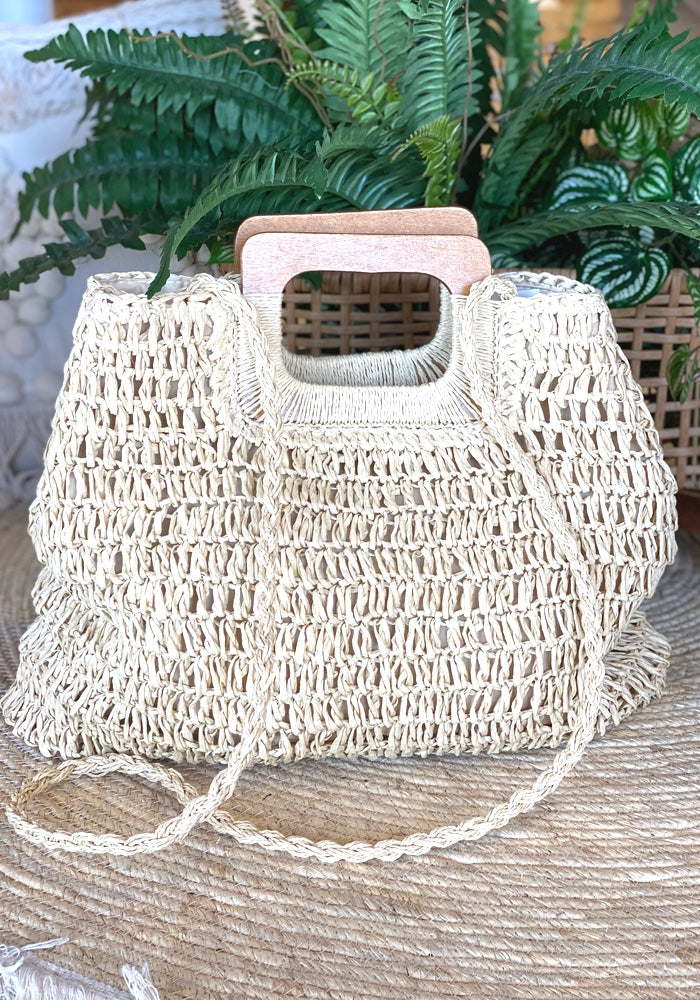 Dreamweaver Woven Basket  - Natural