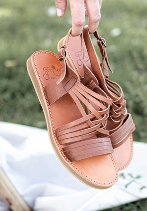 Egipcias Sandals - Moka