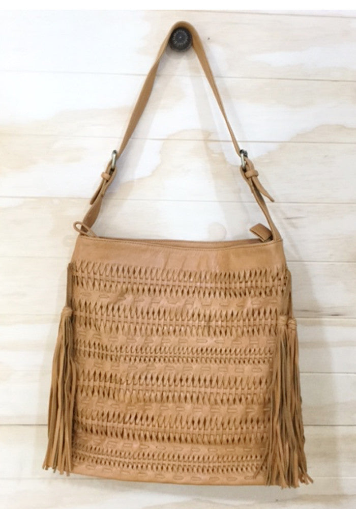 Cabo gypsy hobo oversized bag Camel