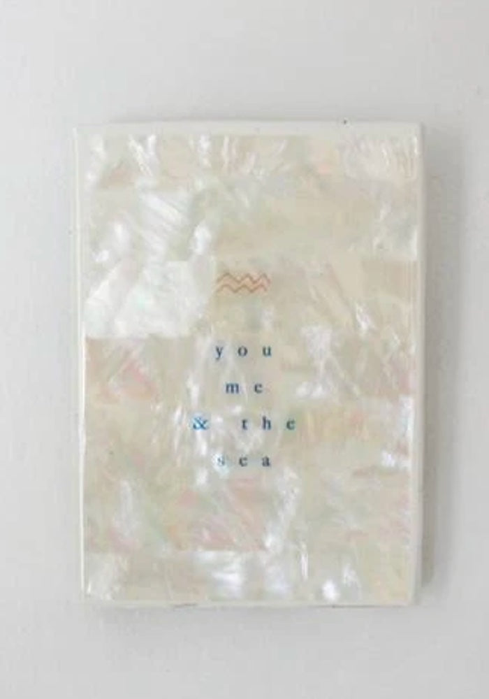 You Me & The Sea Shell Mini Tile
