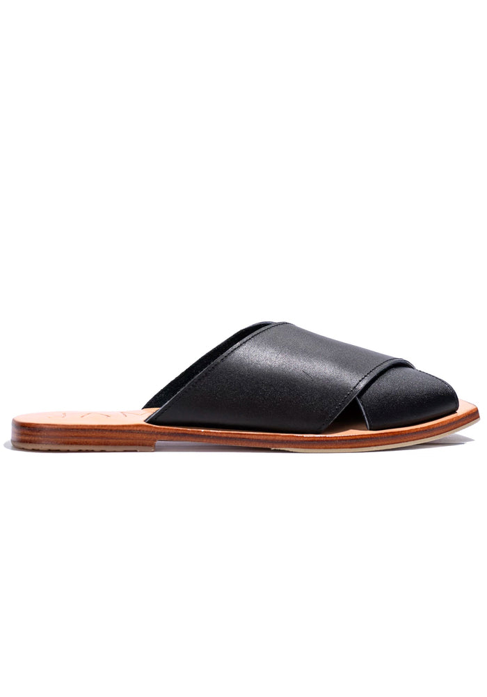 JAMES SMITH Poseidon Slides Black