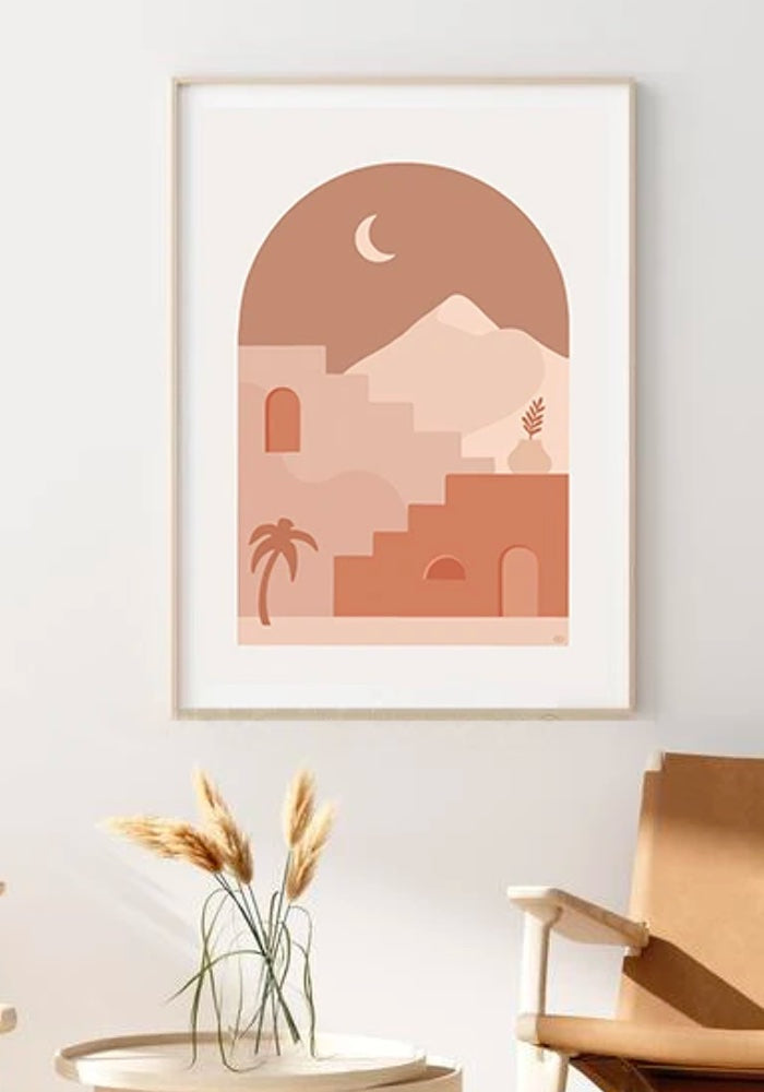 LAGOM DESIGNS Marrakesh Print A4