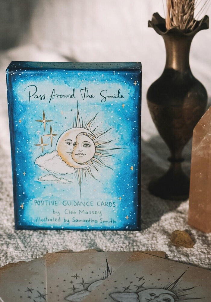 Pass Around the Smile Cards - Positive Guidance Cards