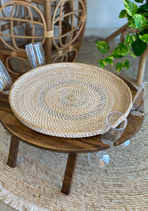 CABO GYPSY Rattan Food Cover & Tray