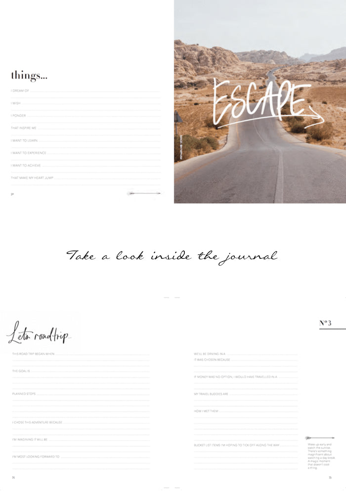 Roadtrip Journal Luxe Edition