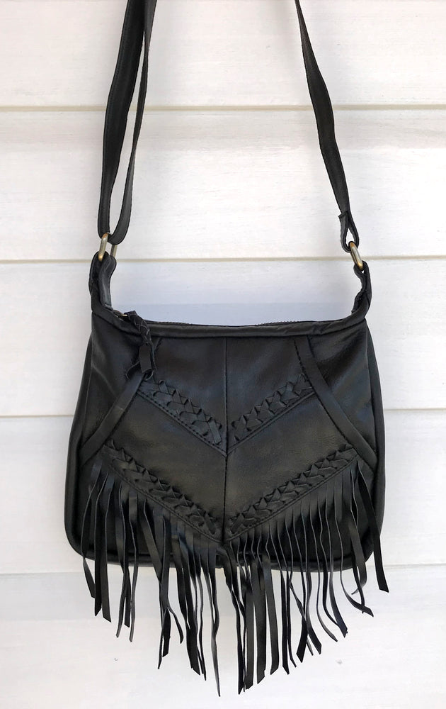 cabo gypsy rosebowl bag black