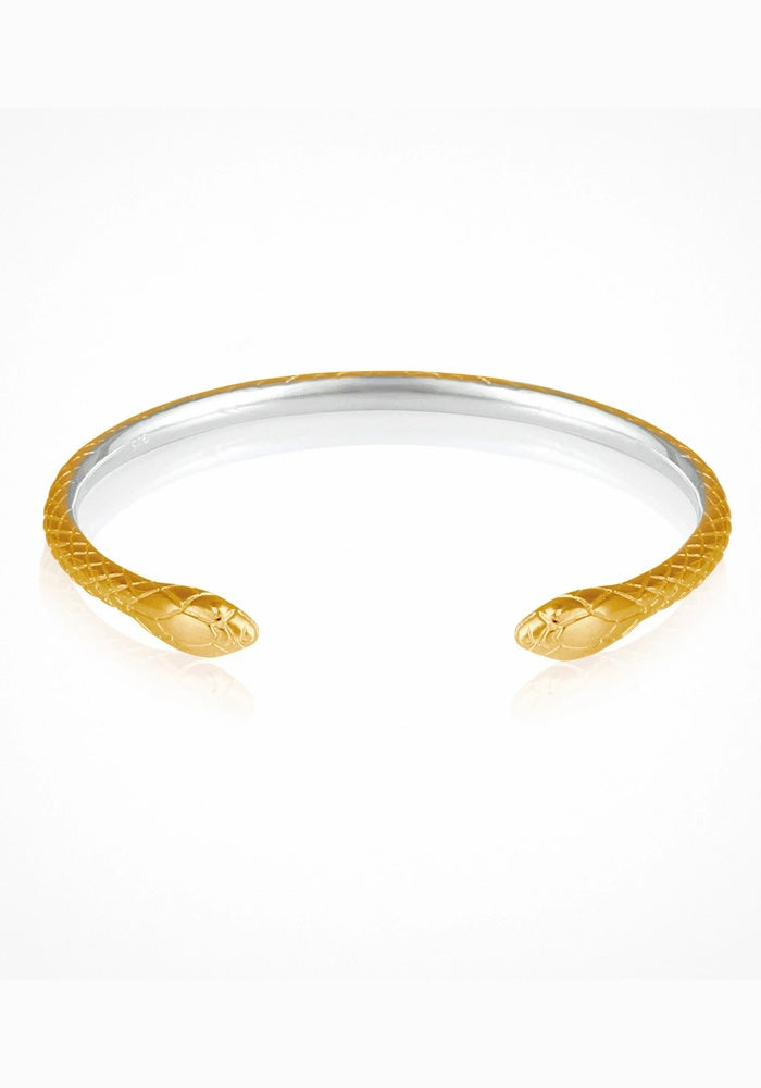 Serpent Cuff Gold