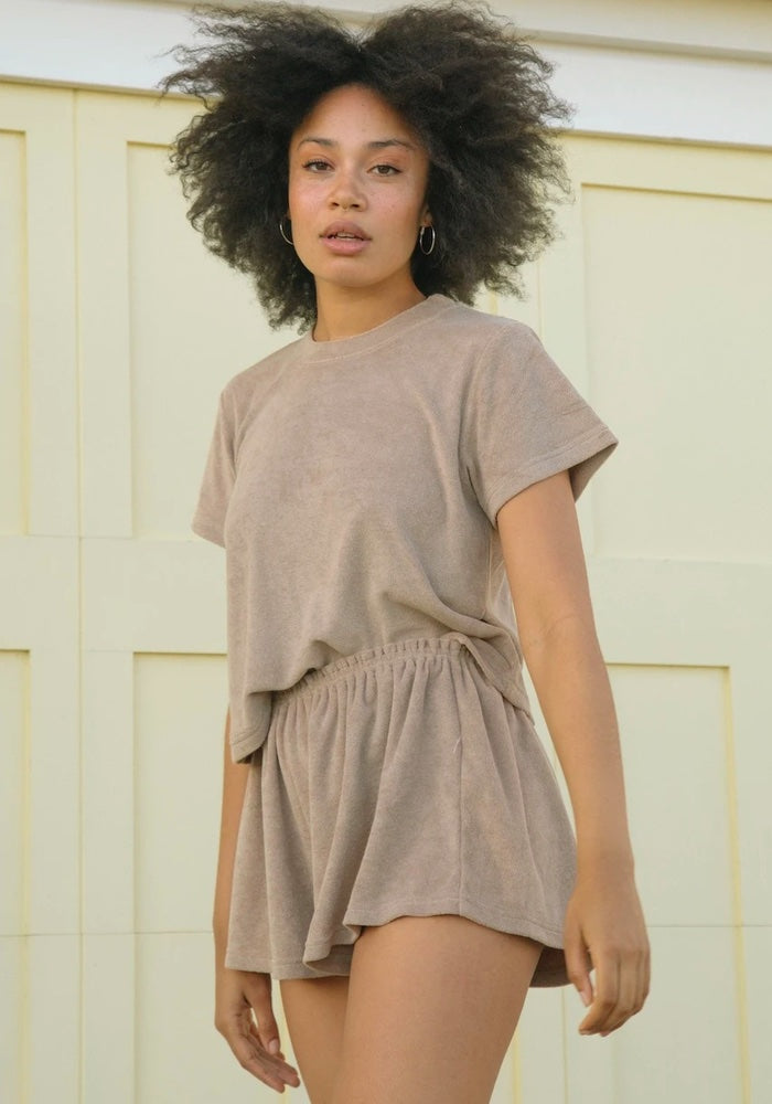 SUMMI SUMMI The Relaxed shorts - Mocha