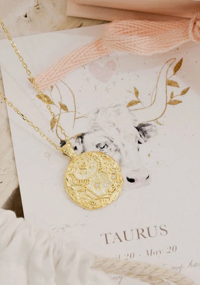 Zodiac Necklace - 12 Starsigns