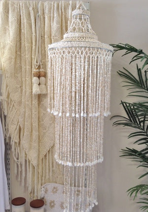 Shell Chandelier - Tear Drop