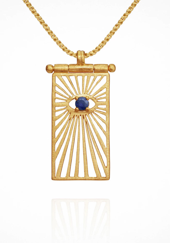 Eye Necklace - Gold
