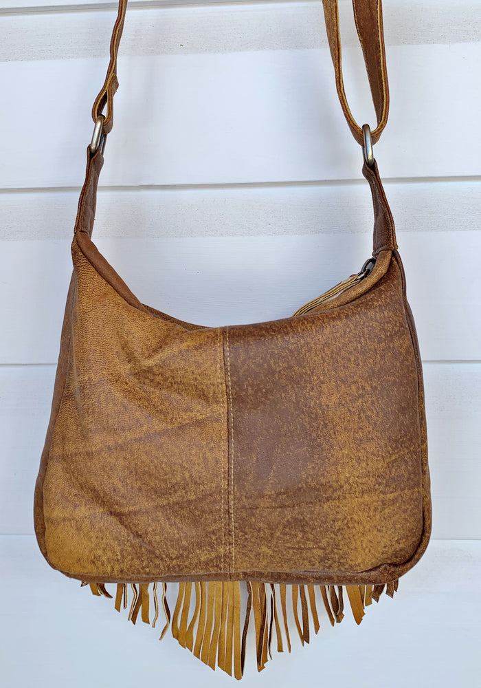 cabo gypsy rosebowl bag vintage tan