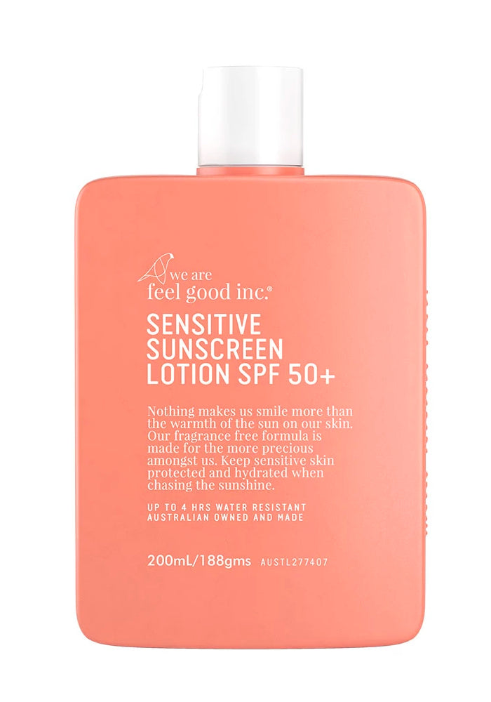 WE ARE FEEL GOOD INC. Sensitive Sunscreen Lotion SPF 50+ - 200ml
