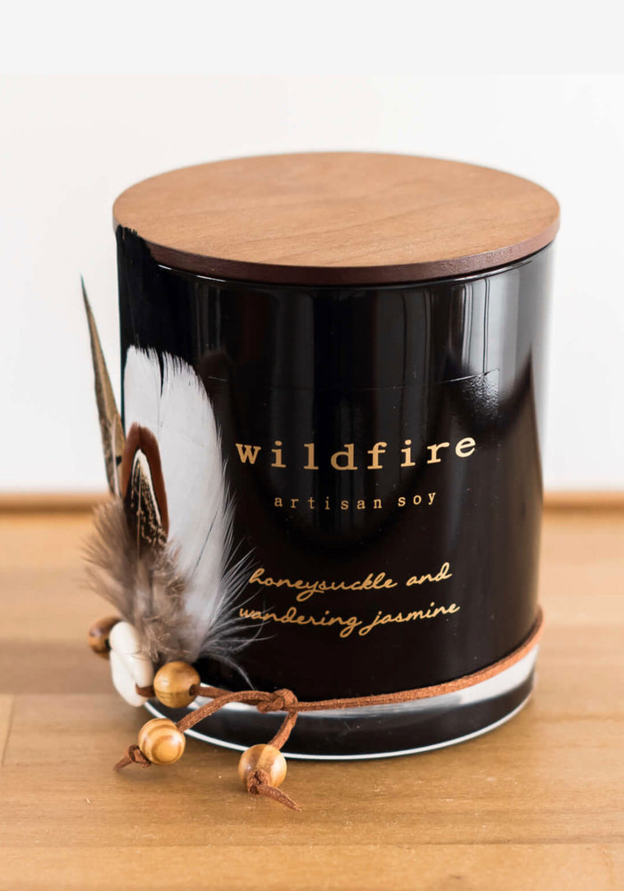 wildfire gorgeous green tea and ginger Soy Candle