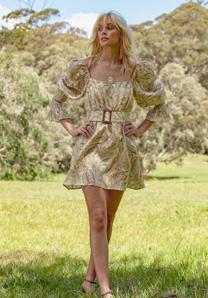 MINISTRY OF STYLE Woodstock Mini Dress