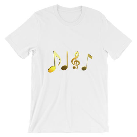 Music Keys - Unisex short sleeve t-shirt