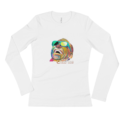 Ray Charles Ladies' Long Sleeve T-Shirt