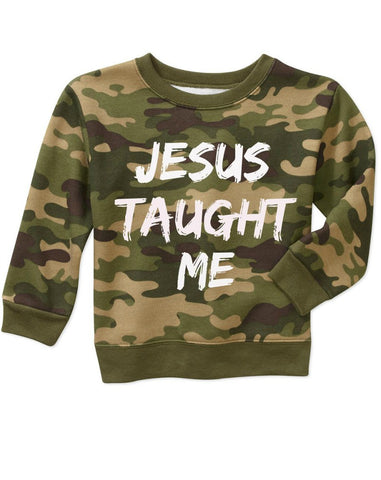 Jesus Taught Me (special edition- camo green)