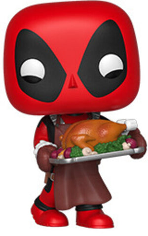 Marvel Deadpool Supper Hero Turkey Dinner Pop! Vinyl Collectible Figure