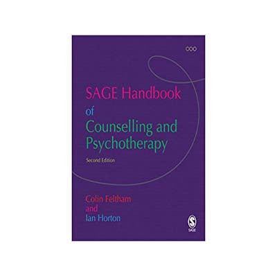 The SAGE Handbook of Counseling and Psychotherapy - 2nd edition