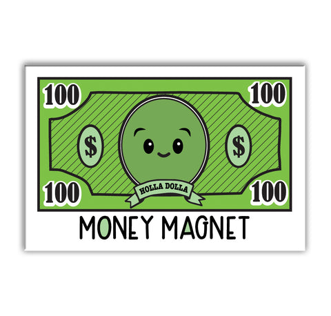 "NEW! Cute Money Magnet 2"" x 3"" Fridge Magnet"