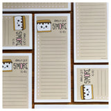 Cute S'More Pun Notepad