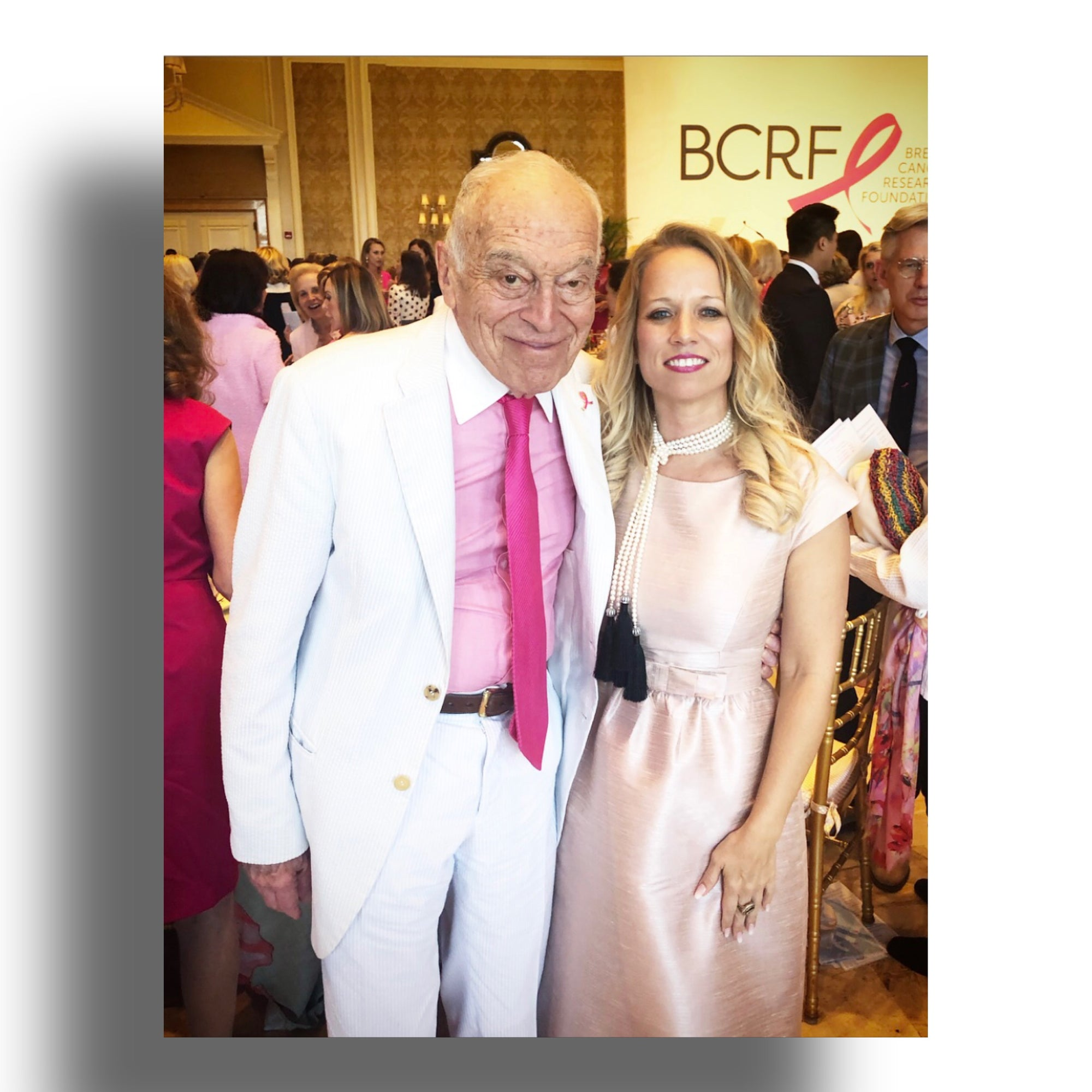 BCRF Neiman Marcus Leonard Lauder Estee Lauder Heather Matjasic 2019 Hot Pink Luncheon The Breakers Palm Beach Florida Fashion Show