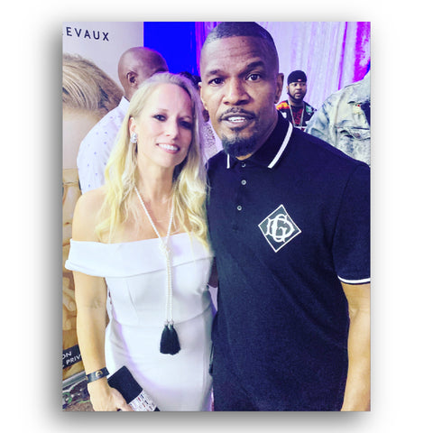 Heather Matjasic Jamie Foxx Super Bowl Miami LIV Parties Seminole Hard Rock Casino